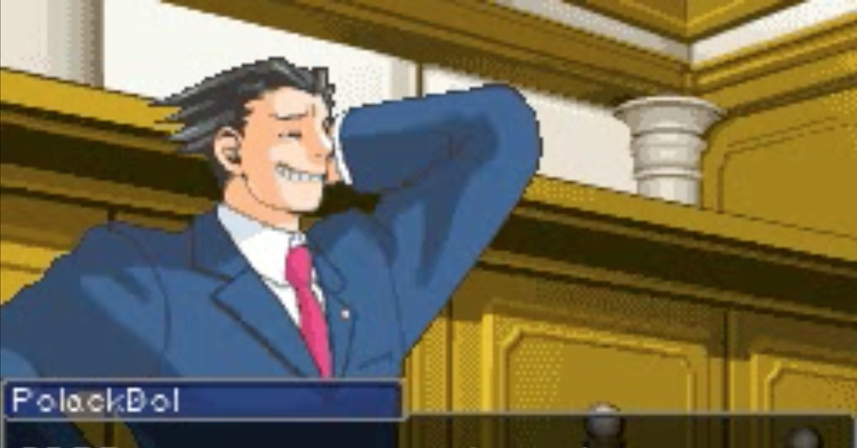 We don't object to this Reddit bot that turns arguments into Ace Attorney videos