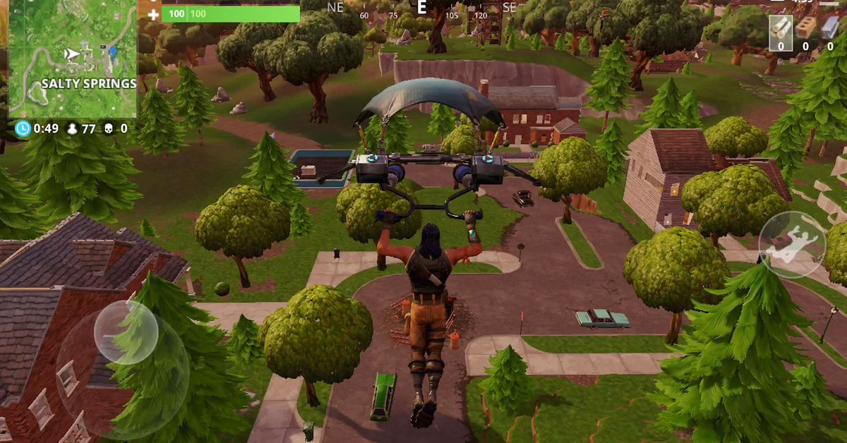 Does Iphone 6 Have Live Wallpaper Fortnite On Ios Runs Like A Dream Polygon