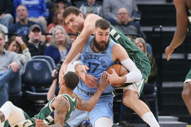 Memphis Grizzlies vs. Milwaukee Bucks Game Preview - Grizzly Bear Blues
