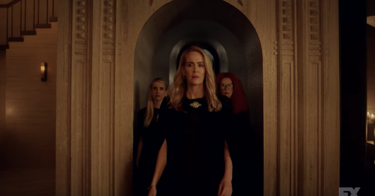 Wallpaper Gaming Girl American Horror Story Apocalypse Trailer First Look At
