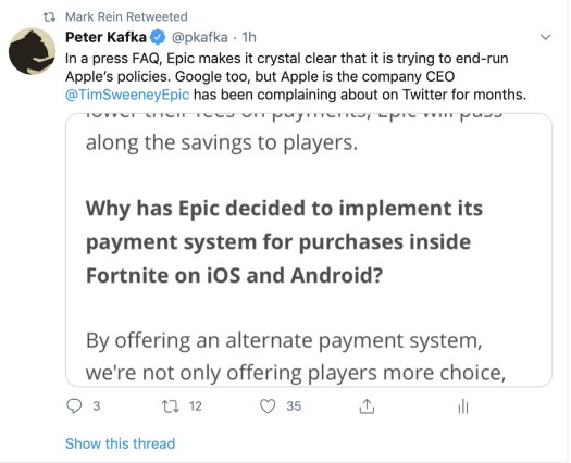 Fortnite parent Epic dares Apple to block its game on iPhones 2