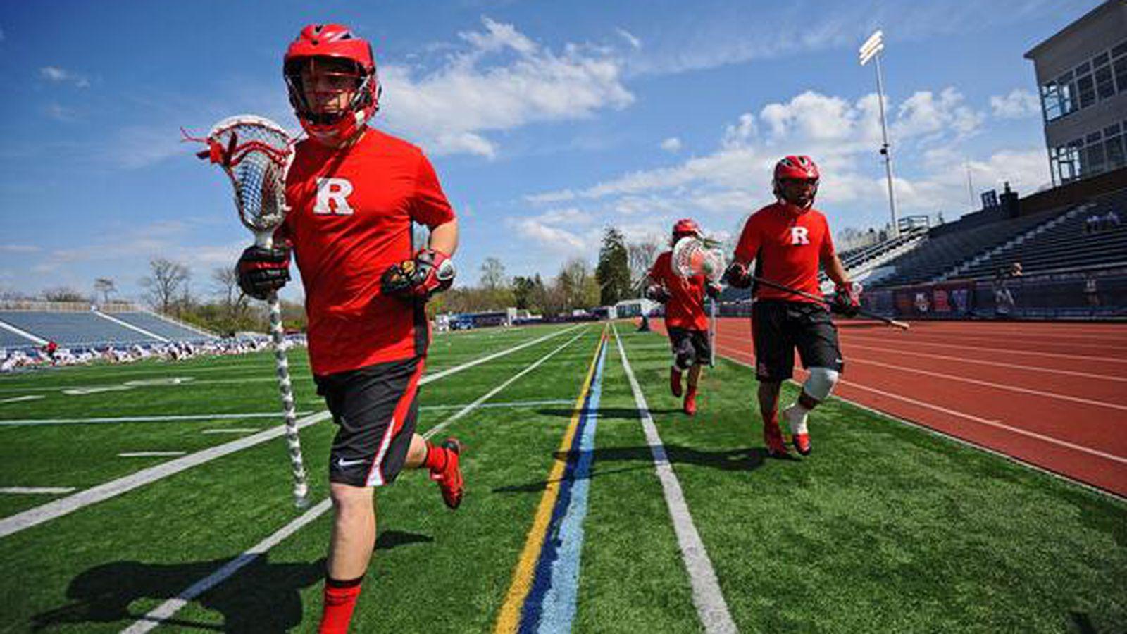 Logo Lacrosse Rutgers Knights Scarlet