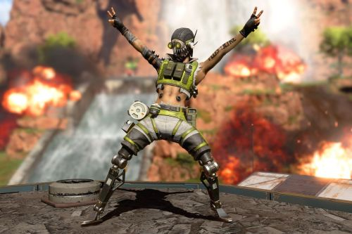 small resolution of apex legends octane celebrating