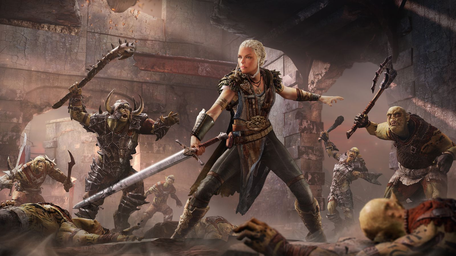 Play Middle Earth Shadow Of Mordor As A Woman Polygon