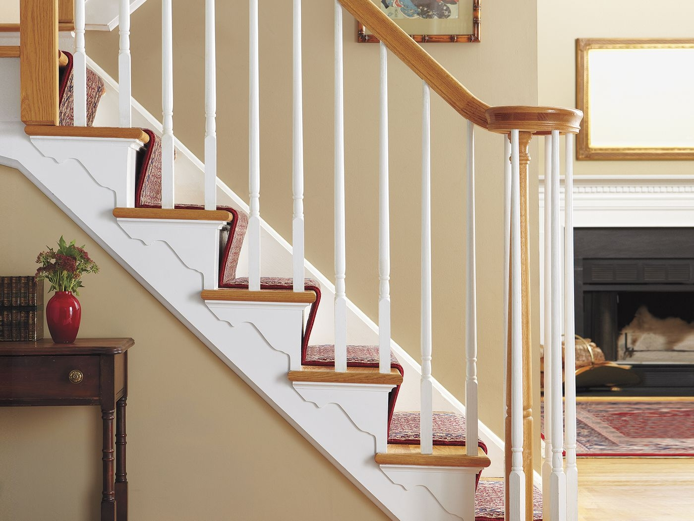 21 Home Improvement Ideas On Budget This Old House | House Inner Steps Design | Residential | Internal Step | Upstairs | Apartment Duplex | Unique