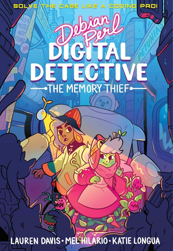 cover of Debian Perl: Digital Detective, by Lauren Davis, Mel Hilario, Katie Longua