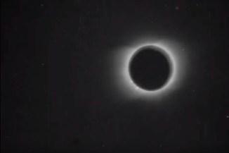 Napfogyatkozás (1900) – a legelső filmfelvétel