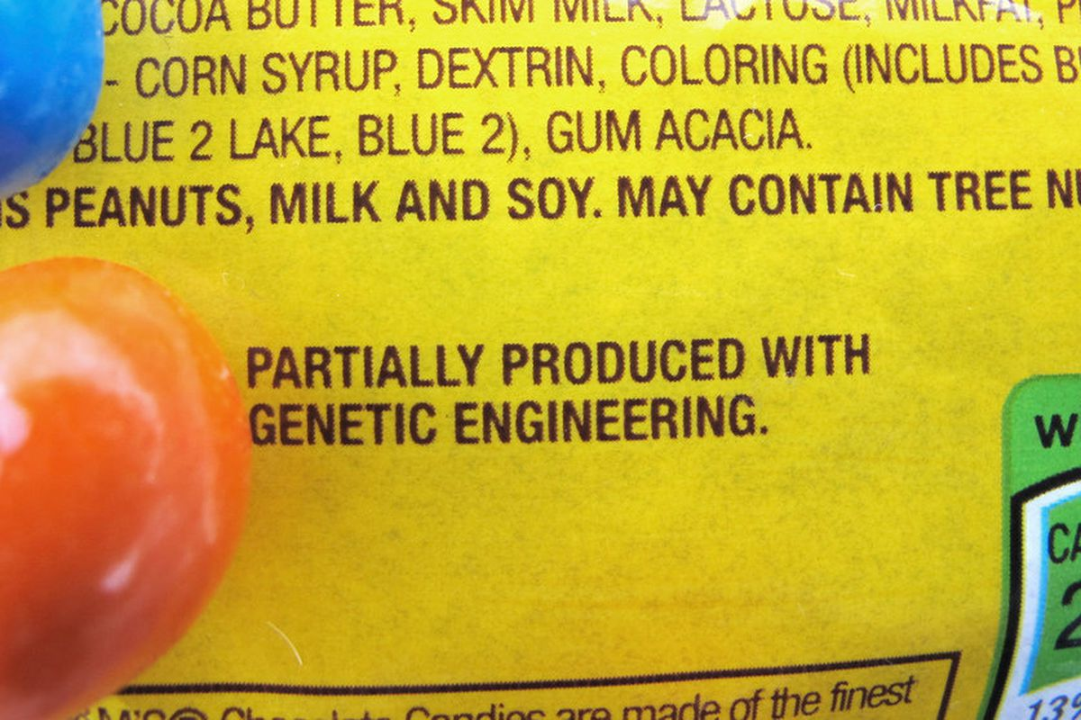 Labeling genetically modified food makes people less