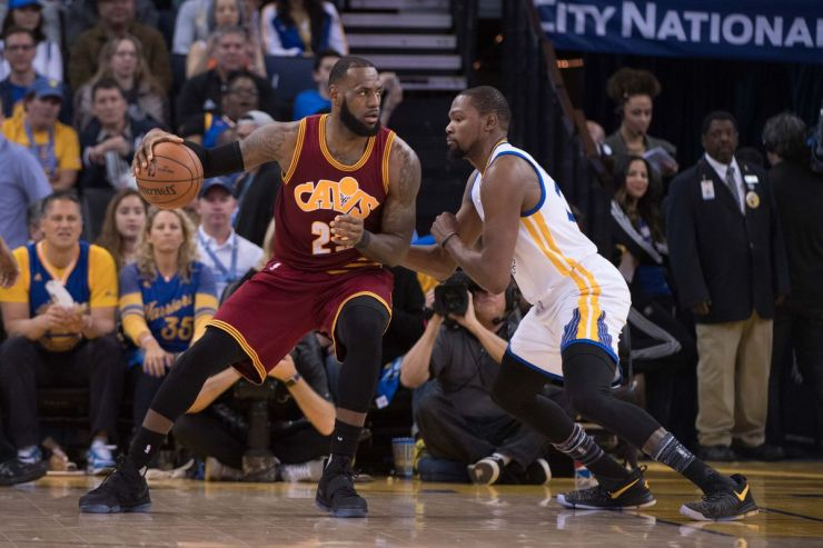 LeBron James, Kevin Durant and the rivalry that never happened - Fear The Sword
