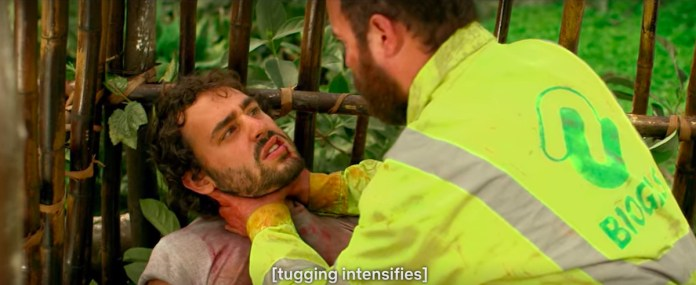 tugging intensifies in the green inferno
