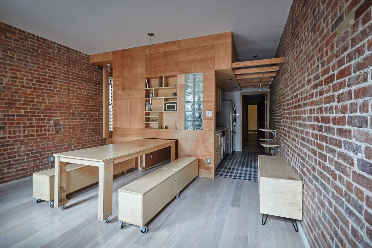 Manhattan apartment transforms into flexible live