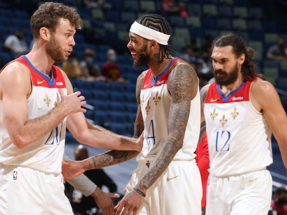 Brandon Ingram's 28 points propels Pelicans to dominant 116-82 victory over  Cavaliers - The Bird Writes