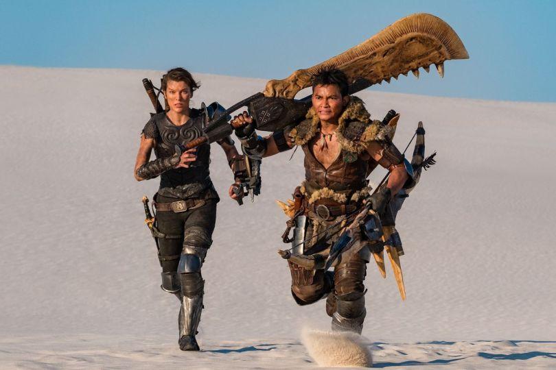 monster hunter movie promo image