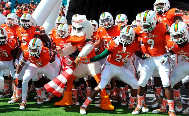 2019 Miami Vs Florida Football Game Close To A Done Deal