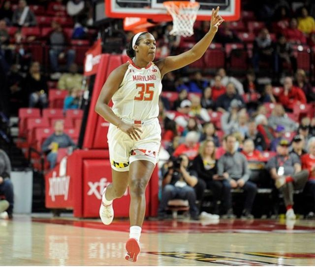 Maryland Womens Basketballs Olivia Owens Announces Shes Entered