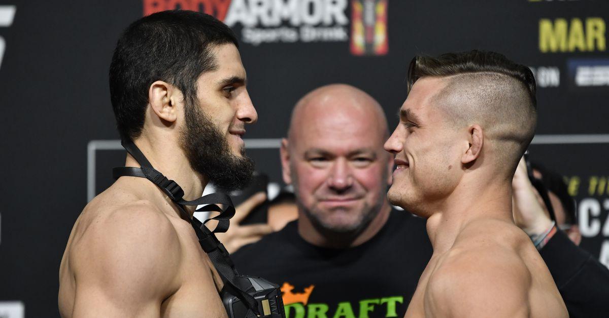 UFC 259 results: Islam Makhachev mauls Drew Dober, blocking him late
