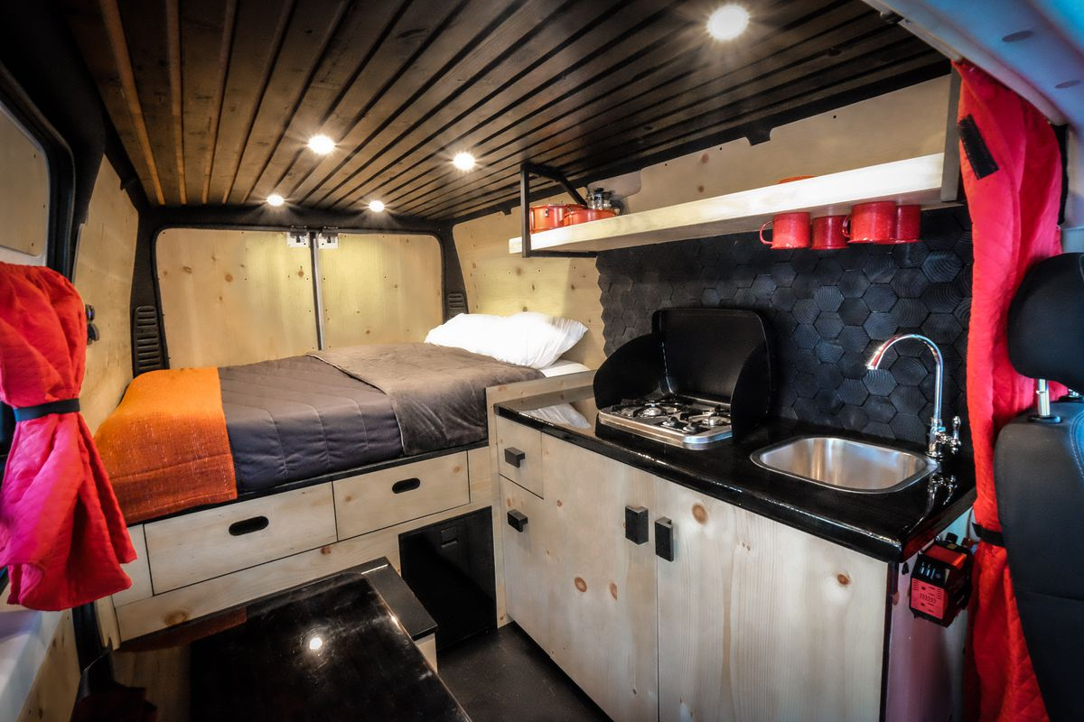 living room chairs for short people ideas to decorate your walls camper vans rent: 11 companies that let you try van ...