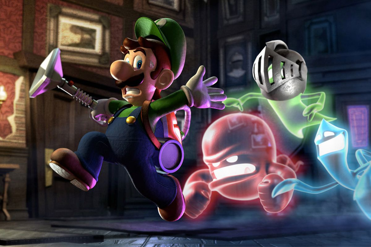 luigi s mansion is
