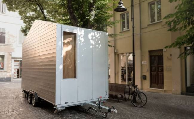 This Tiny House Hides Everything In Its Walls Curbed