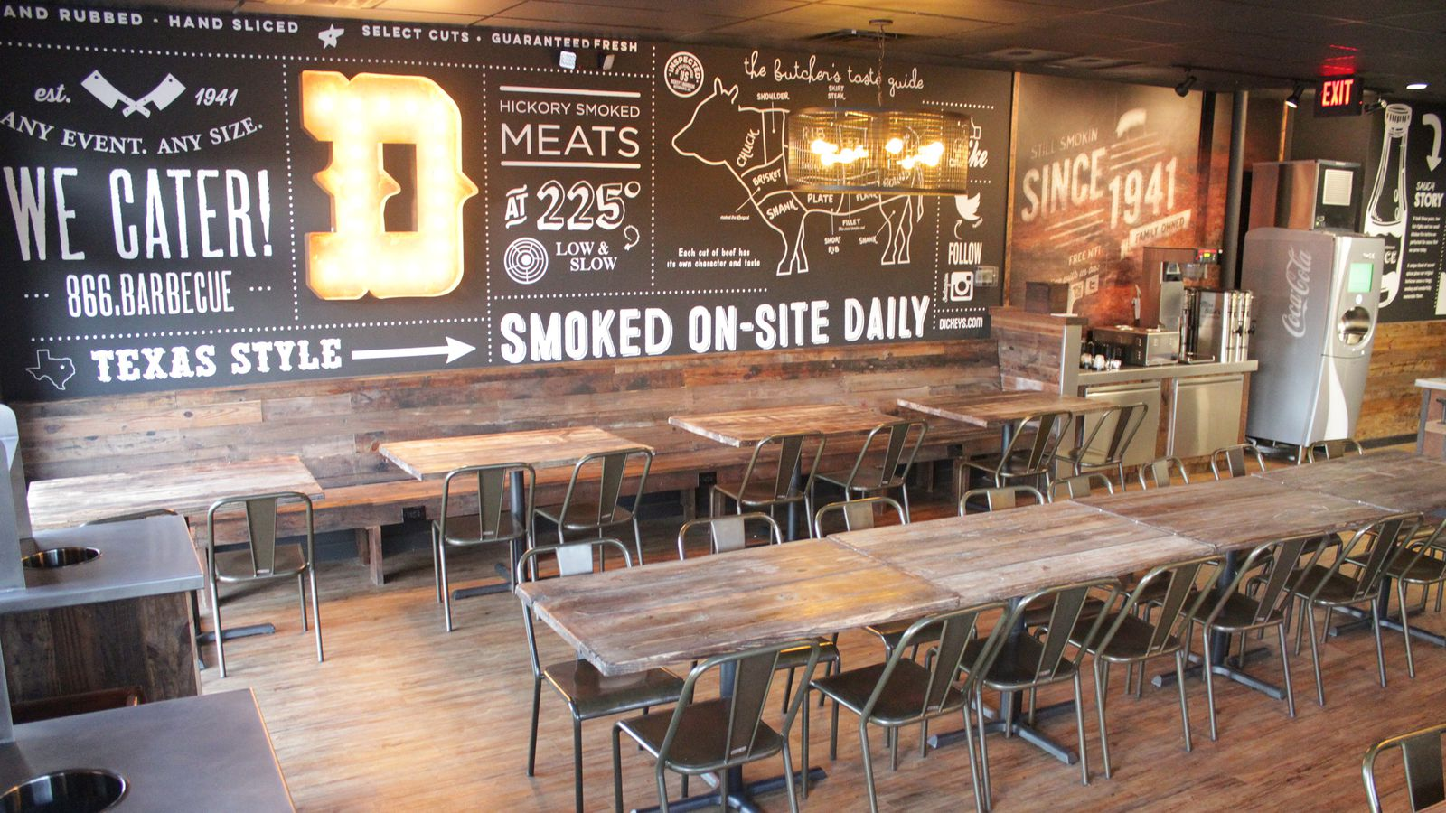Dickeys Barbecue Gets a Hipster Makeover  Eater Dallas