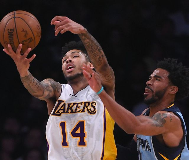 Game Preview Memphis Grizzlies At Los Angeles Lakers Grizzly