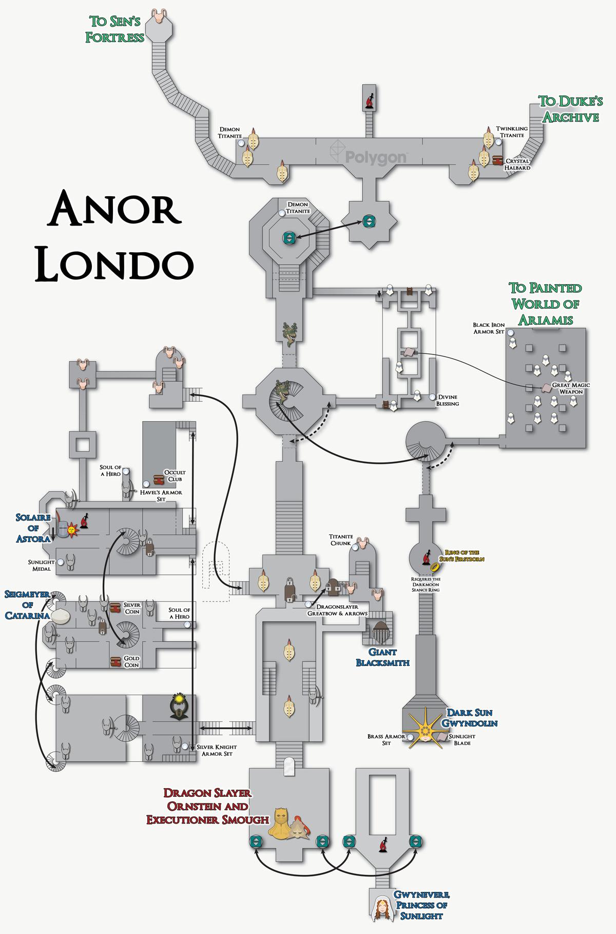 New Londo Ruins Map : londo, ruins, Souls, Londo, Ruins