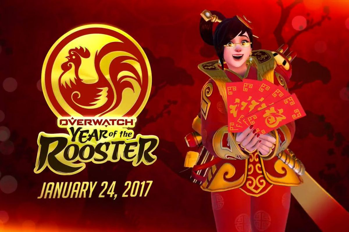 Overwatch Chinese New Year Event Skins Details Leak Out