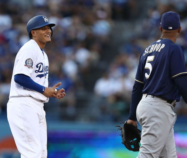 Dodgers Vs Brewers Nlcs Was Improbable But Now Its Here