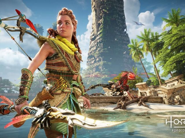 Horizon Forbidden West PS5 gameplay video reveals Aloy's new tools - Polygon