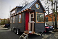 A luxury tiny house on wheels is full of big extras ...