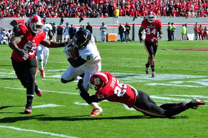 Image result for Virginia cavaliers vs. NC State WolfPack
