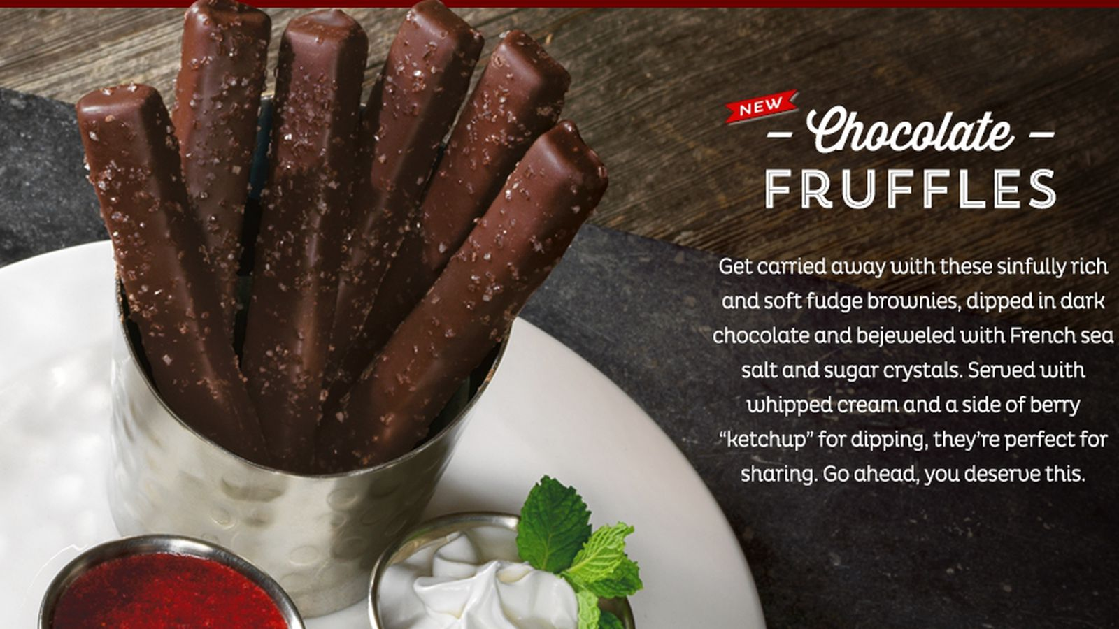 Red Robin Introduces Dunkable Brownies With Perplexing
