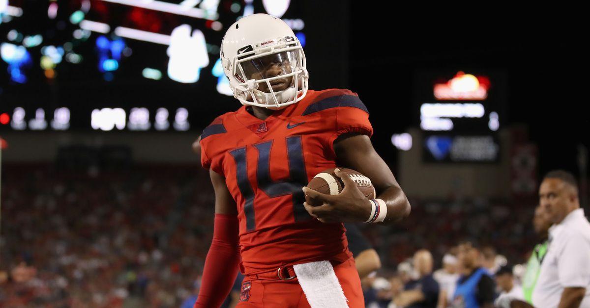 Sporting News lists Arizonas Khalil Tate as top 25