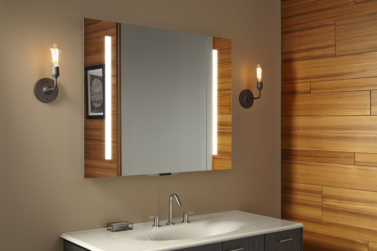 Kohlers smart mirror can control a new line of voice