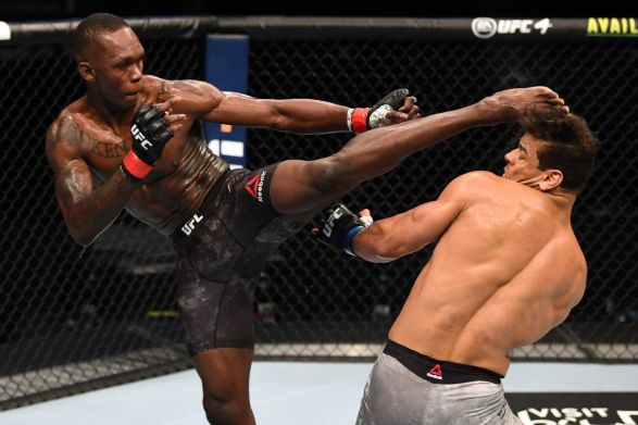 Israel Adesanya dominates Paulo Costa, finishes with devastating  second-round knockout in UFC 253 main event - MMA Fighting