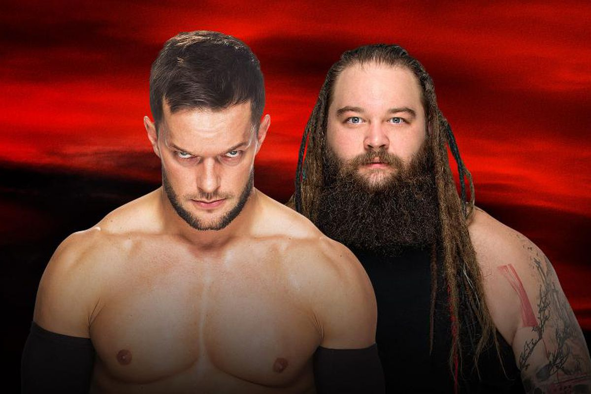 Image result for Finn Balor vs. Bray Wyatt no mercy