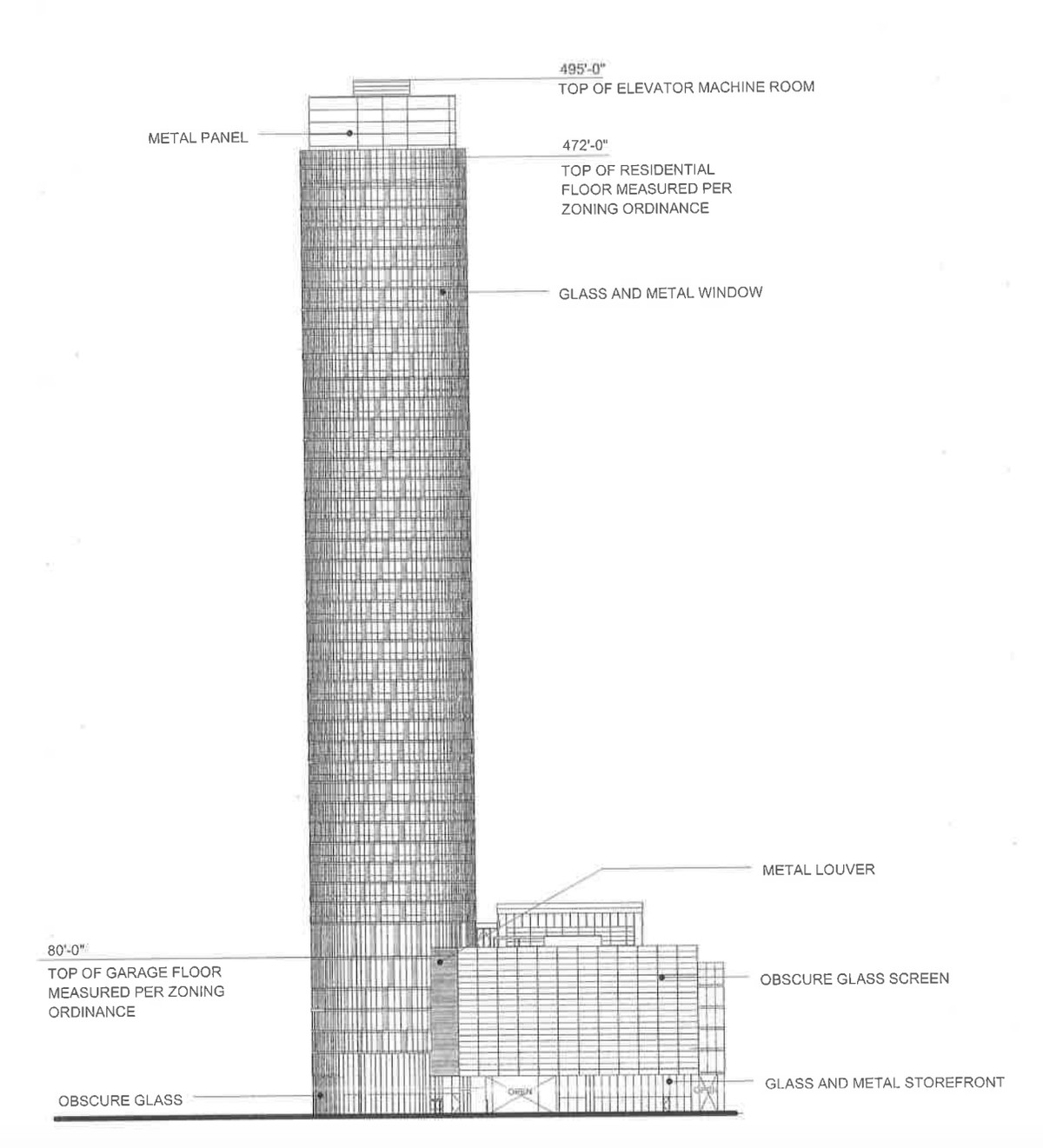 500 Foot Apartment Tower Headed To Chicago S Greektown