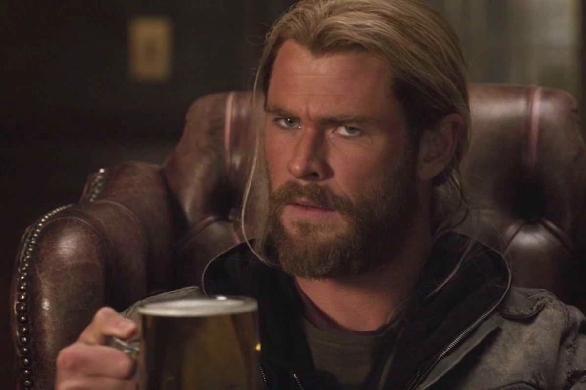 Sad Girl Drinking Wallpaper Yes Fat Thor Jokes Are Problematic But Fat Thor Isn T
