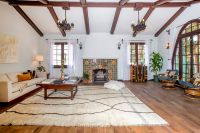 Dramatic Spanish-style house with painted ceilings asks $1 ...