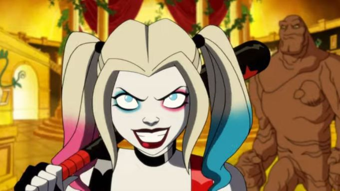Harley Quinn and Clayface prepare for a fight in the DC Universe animated show
