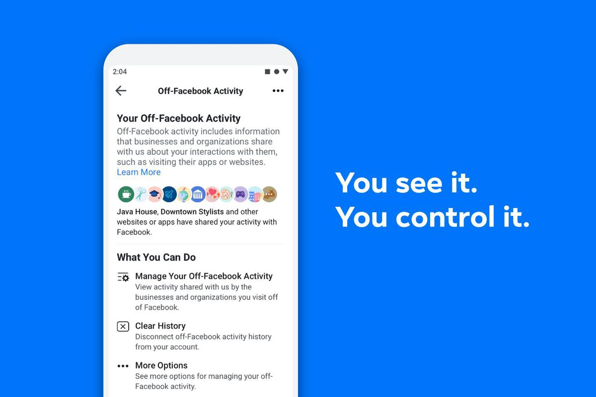facebook s clear history