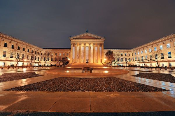 Construction Frank Gehry Philadelphia Museum Of Art Master Plan Year - Curbed