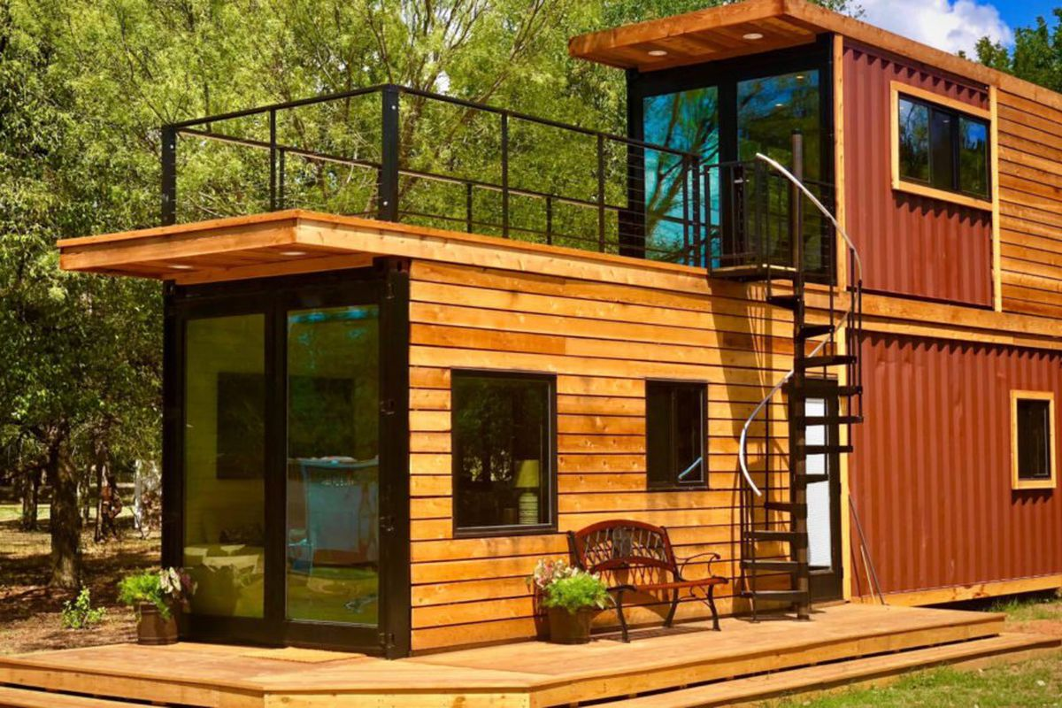 shipping container small homes