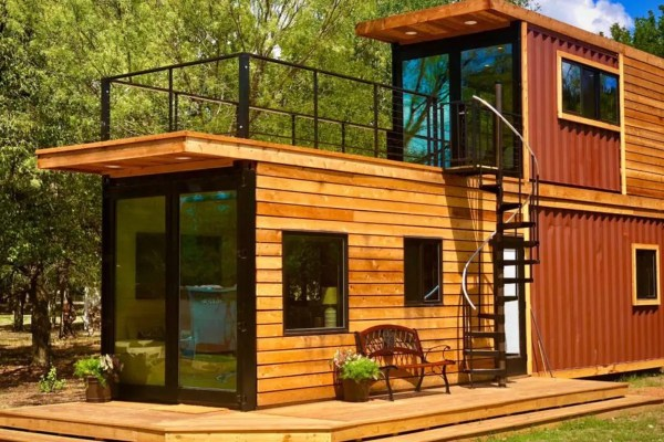 Shipping Container Home Sweet Roof Terrace - Curbed