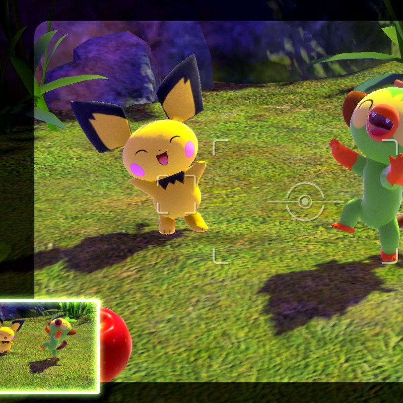 Switch NewPokemonSnap screen 01
