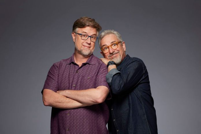 "dan povenmire and jeff ""swampy"" mars"