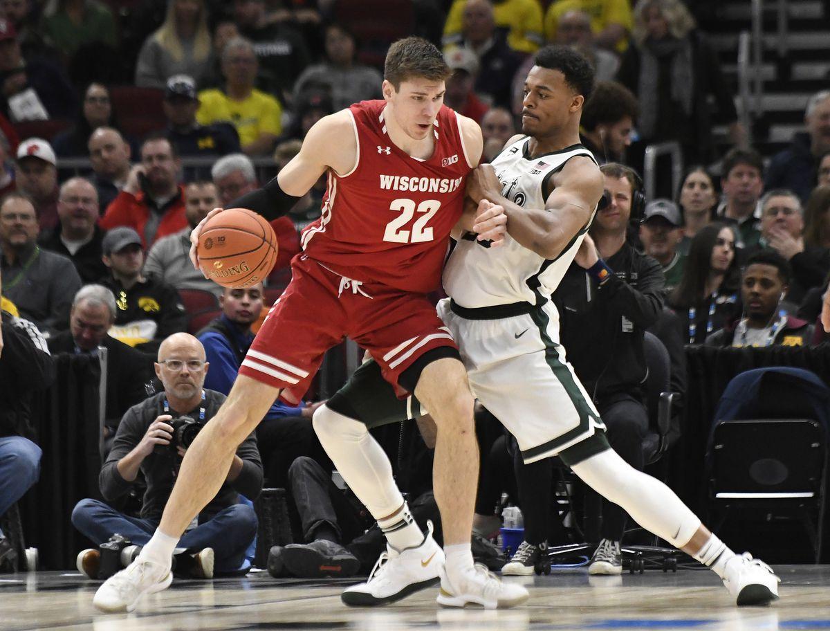 Basketball de la NCAA: Tournoi de la conférence Big Ten - Michigan State vs Wisconsin