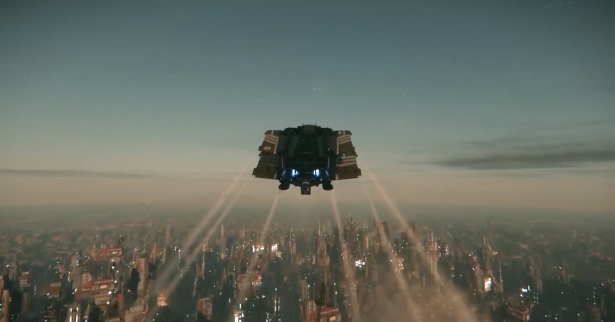 Star Citizens fan convention introduced a planetsized city right out of Blade Runner  Polygon