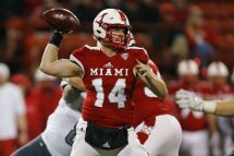 Miami Redhawks End Season High Note Beat Ball