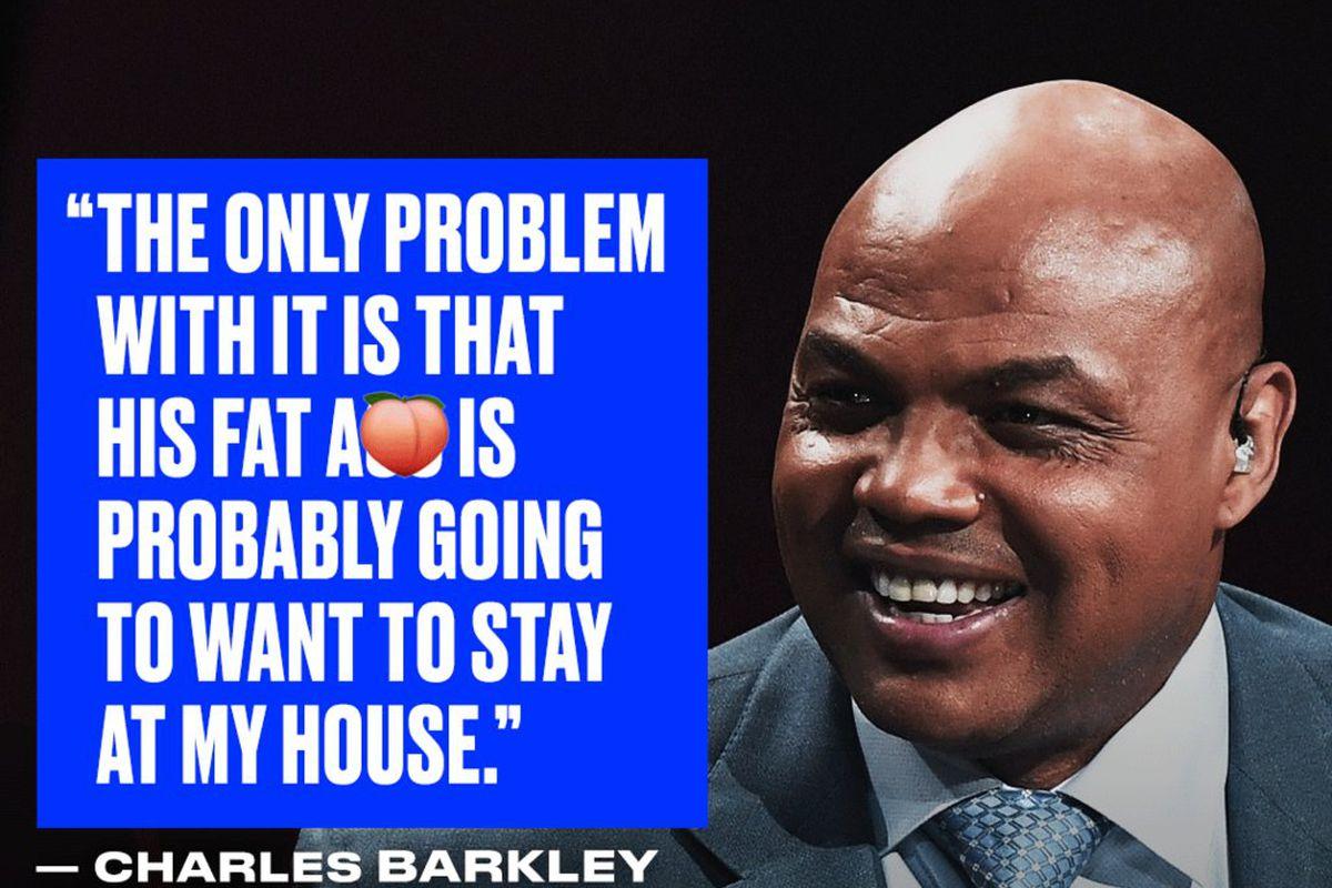 Charles Barkley doesnt want Shaq coming to his Arizona
